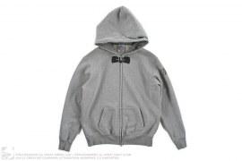 Bow Tie Print Insulated Hood Full-Zip Hoodie by BBC/Ice Cream