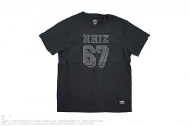 Nhiz Izzue Plus 67 Felt Print Tee by Neighborhood