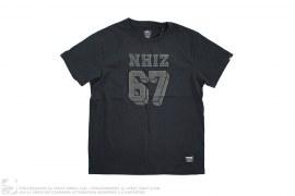 Nhiz Izzue Plus 67 Felt Print Tee by Neighborhood
