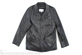 Leather Sport Coat Blazer by Wilsons Leather