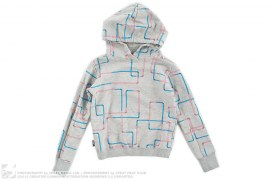 Pipe Graphic Pull-Over Hoodie by PHCY