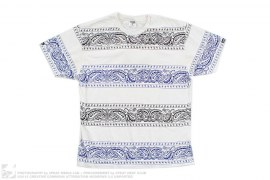 Paisley Bandanna Border Tee by Crooks & Castles