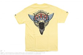 Medusa Bandanna Bandito Wings Graphic Tee by Crooks & Castles