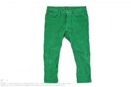 3/4 Corduroy Cropped Stretch Pants by Dolce & Gabbana