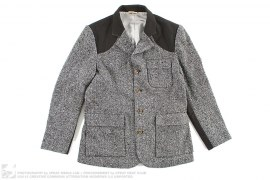 Premium Tweed Blazer Jacket w/ Garment Bag by BBC/Ice Cream