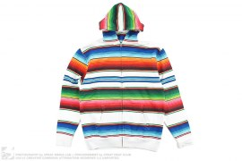 Rainbow Zip-up Hoodie by Swagger