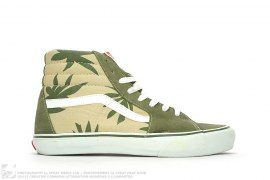 Sk8-HI Palm Leaf Sneakers by Vans