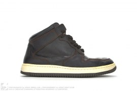 Supreme Brand Midtown High Top Leather Sneakers by Supreme