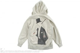 Galaxy Rocket Gent Heather Full Zip Hoodie by BBC/Ice Cream