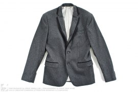 Wool Blend Blazer Sport Coat by Dolce & Gabbana