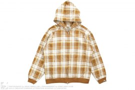 Plaid Full Zip Hoodie by A Bathing Ape