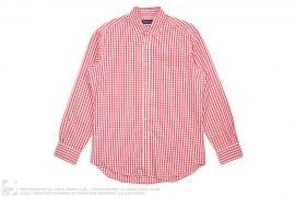 Purple Label Gingham Plaid Button-Up Shirt by Ralph Lauren