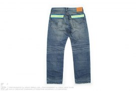 Neon Chomper Pocket Chomper Selvage 105-XX Vintage Wash Denim by OriginalFake