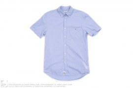 Oxford Classic Fit Short Sleeve Button Up Shirt by Lacoste