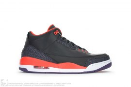 Air Jordan 3 Retro Crimson by Jordan Brand