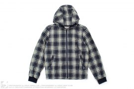 Lightweight Plaid Hooded Jacket by A Bathing Ape