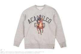 Arabian Knight Crewneck Sweatshirt by Acapulco Gold