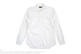 Collection Pocket Button-Up Dress Shirt by Calvin Klein