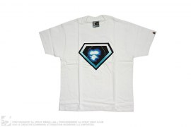 Glowing Diamond Apeface Graphic Tee by A Bathing Ape