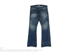 Boot Cut Vintage Wash Salvedge Denim by Gilded Age