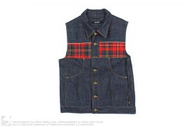 Justin Beiber Destitute Denim Vest by Feltraiger