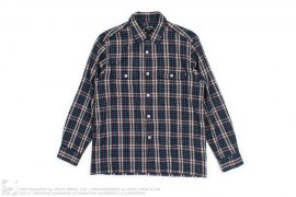 Plaid Flannel Button Up by Stussy