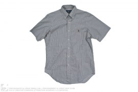 Polo Classic Fit Plaid Short Sleeve Button Up by Ralph Lauren