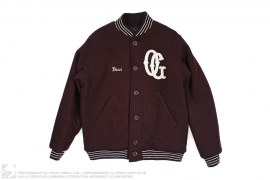 Boss OG Melton Wool Varsity Letterman Jacket by Acapulco Gold