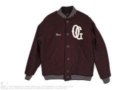 Boss OG Melton Wool Varsity Letterman Jacket by Acapulco Gold