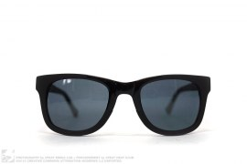 Rubberized Matte Sunglasses by Kris Van Assche x Linda Farrow