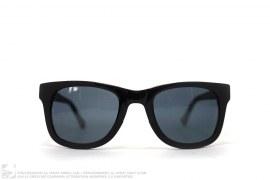 Rubberized Matte Sunglasses by Kris Van Assche x Linda Farrow