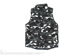 Glow In The Dark City Camo Down Vest by A Bathing Ape