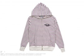 Thin Striped Full Zip Hoodie by BBC/Ice Cream