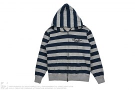 Striped Full Zip Hoodie by BBC/Ice Cream