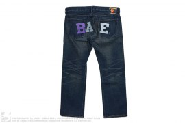 Distressed/Washed LA/NYC Exclusive Denim by A Bathing Ape