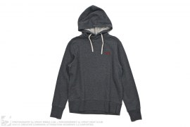 Kamome Twisted Pullover Hoodie by Evisu
