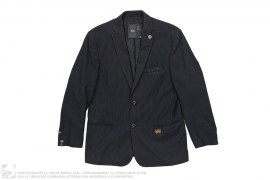 Pinstripe Suit Jacket by G-Star