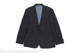 Endurance Pinstripe Suit Jacket by Ted Baker