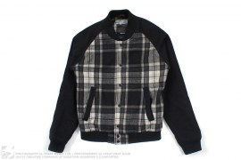 Plaid Print Varsity by WeSC