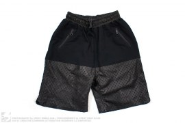 Lasercut Bamboo Shorts by En Noir
