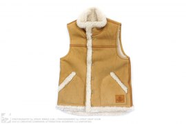 Sheepskin Vest by A Bathing Ape