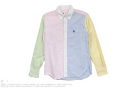 Scorpion Multi Color Oxford Button Down Shirt by Sophnet