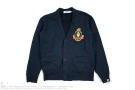 Busy Works Crest Cadigan by A Bathing Ape