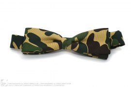 Mr. Bathing Ape ABC Camo Silk Bowtie by A Bathing Ape