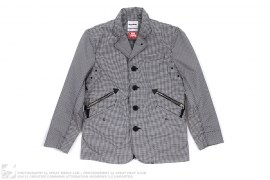 gingam check blazer by OriginalFake