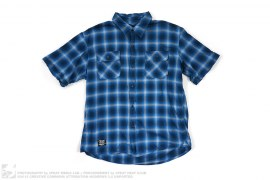 Flannel Short Sleeve Button Up by Neighborhood