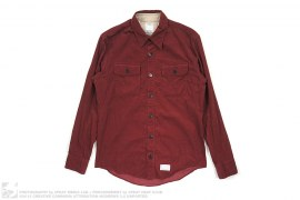 Ahab Long Sleeve Corduroy Button Up by visvim