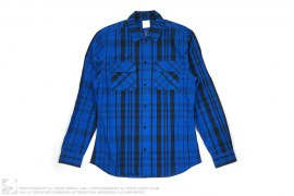 Plaid On Plaid Long Sleeve Shirt by Clot