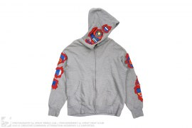 Robot Full Zip Hoodie by BBC/Ice Cream