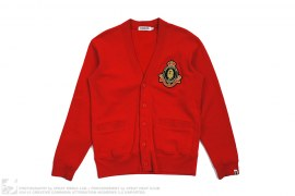 Apehead Crest Sweat Cardigan by A Bathing Ape